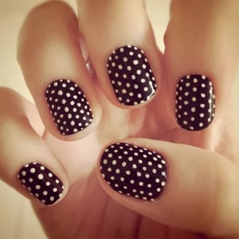 70 Most Beautiful 3d Nail Art Design Ideas For Trendy Girls: 52+ Cool Black Nail Art Designs For Trendy Girls