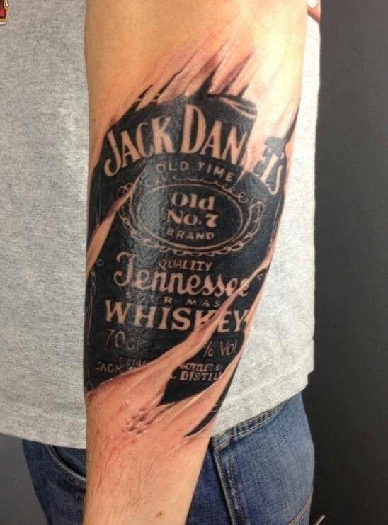 45 wonderful jack daniels tattoos ideas for Table no 21 tattoo