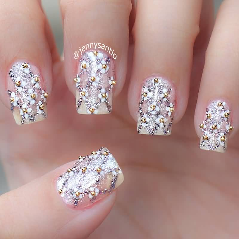 55+ Cool Wedding Nail Art Design Ideas