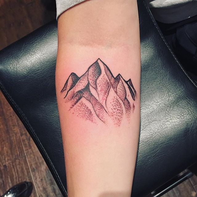 Tattoo Ideas Mountains: 50+ Nice Sleeve Mountain Tattoos