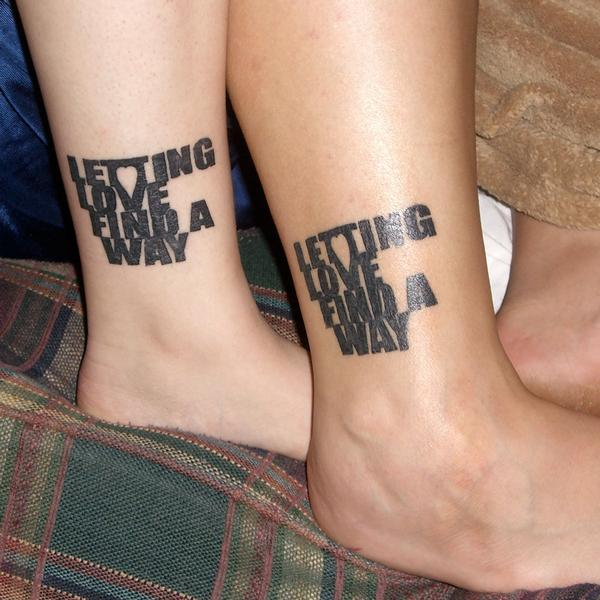 31 Beautiful Matching Tattoos For Couple