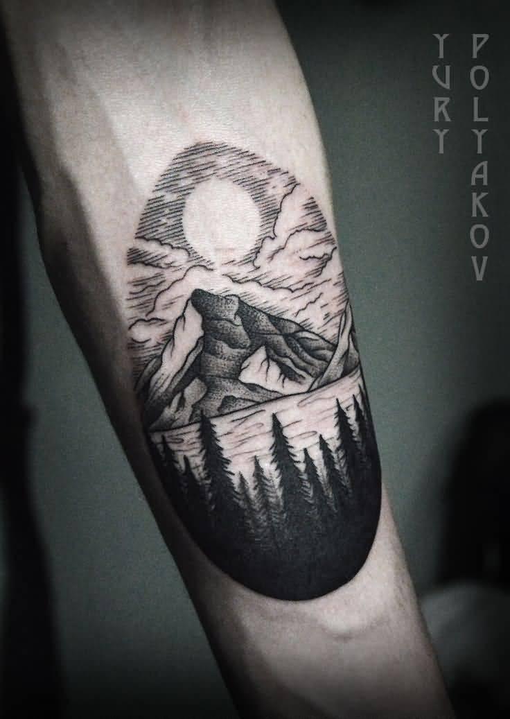 Mountain Tattoo Design: 25+ Mountain Tattoos On Forearm