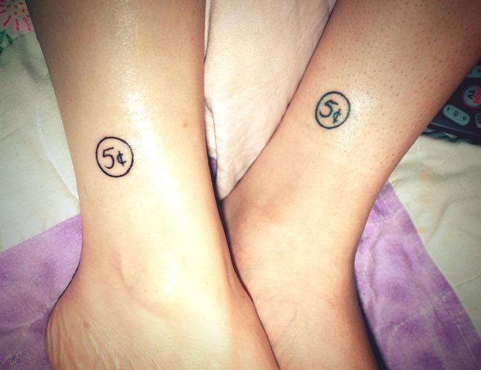 60 cool matching tattoos