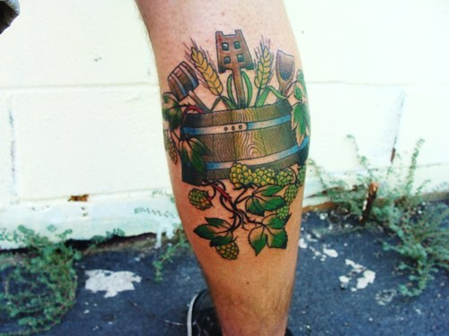 50 amazing craft tattoos for Ink craft tattoo