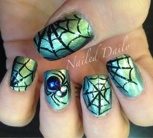 Spider Nail Art Graham Reid