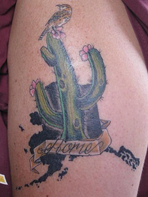 47 saguaro cactus tattoos. Black Bedroom Furniture Sets. Home Design Ideas
