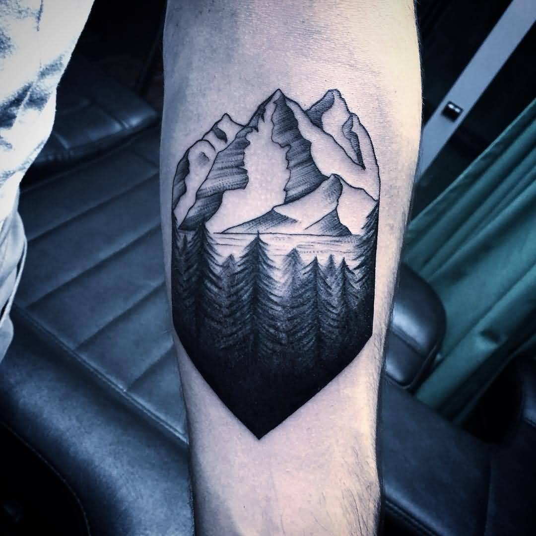 Tattoo Ideas Mountains: 30+ Beautiful Mountain Tattoos