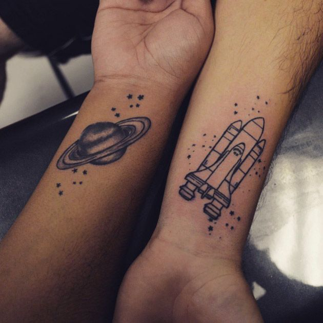 28 Matching Tattoo Designs Ideas: 58+ Matching Wrist Tattoos Ideas