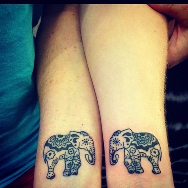 11+ Nice Matching Tattoo Designs