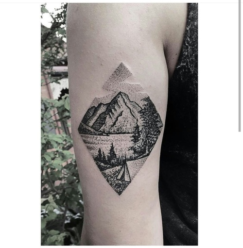 Diamond Tattoo Designs Foot