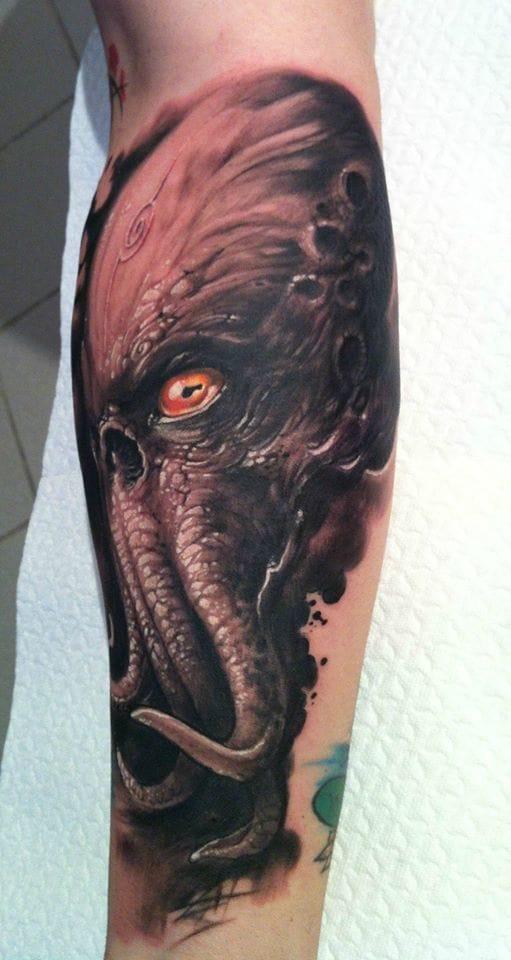 44 Nice Cthulhu Tattoos