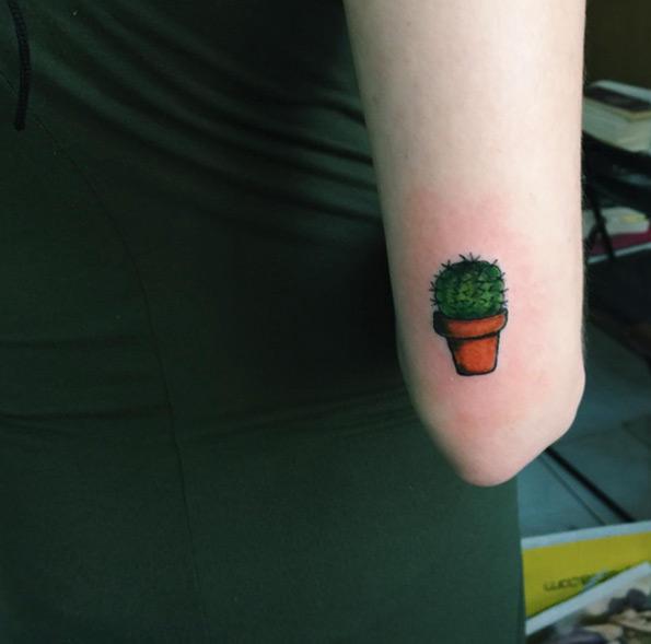 Kaktus tattoo