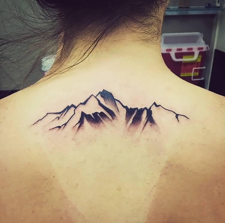 30+ Beautiful Mountain Tattoos