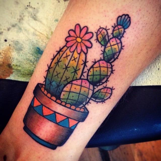 70 Latest Cactus Tattoos