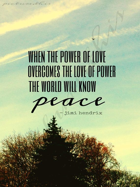Quote About Peace And Love Mesmerizing 60 Peace Quotes Sayings & Quotations