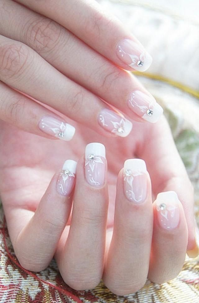 55 Cool Wedding Nail Art Design Ideas