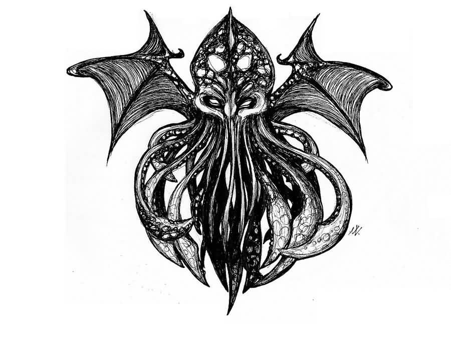 D Wings Tattoo Designs