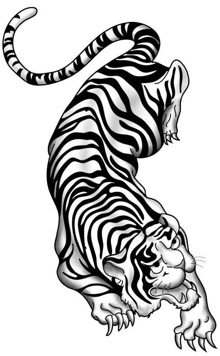 55 latest tribal tiger tattoos. Black Bedroom Furniture Sets. Home Design Ideas
