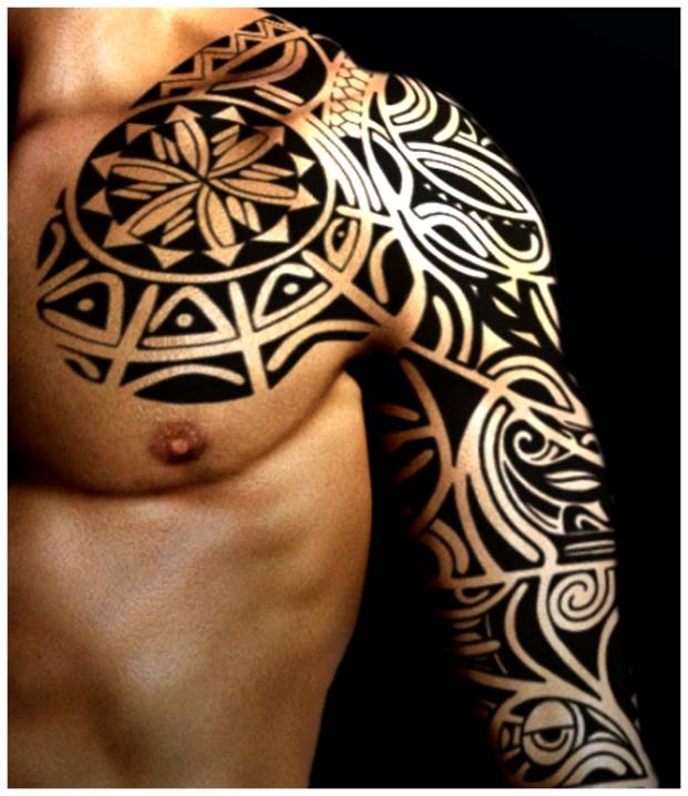 Tattoo Ideas Tribal Arm: 32+ Amazing Tribal Sleeve Tattoos