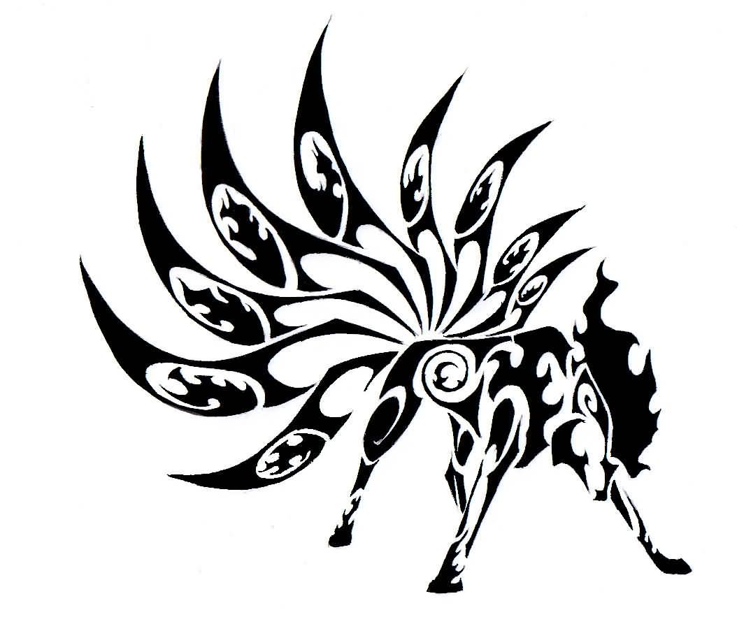 25 Tribal Animal Tattoo Designs