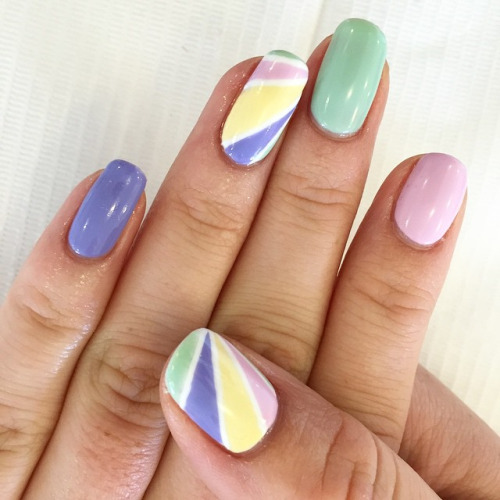 50 Beautiful Stylish And Trendy Nail Art Designs For: 50+ Most Stylish Pastel Nail Art Designs For Trendy Girls