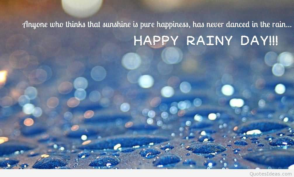 essay on rainy day with quotations