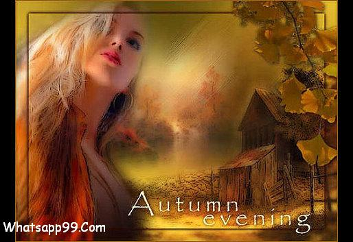 Autumn Evening Wishes Picture