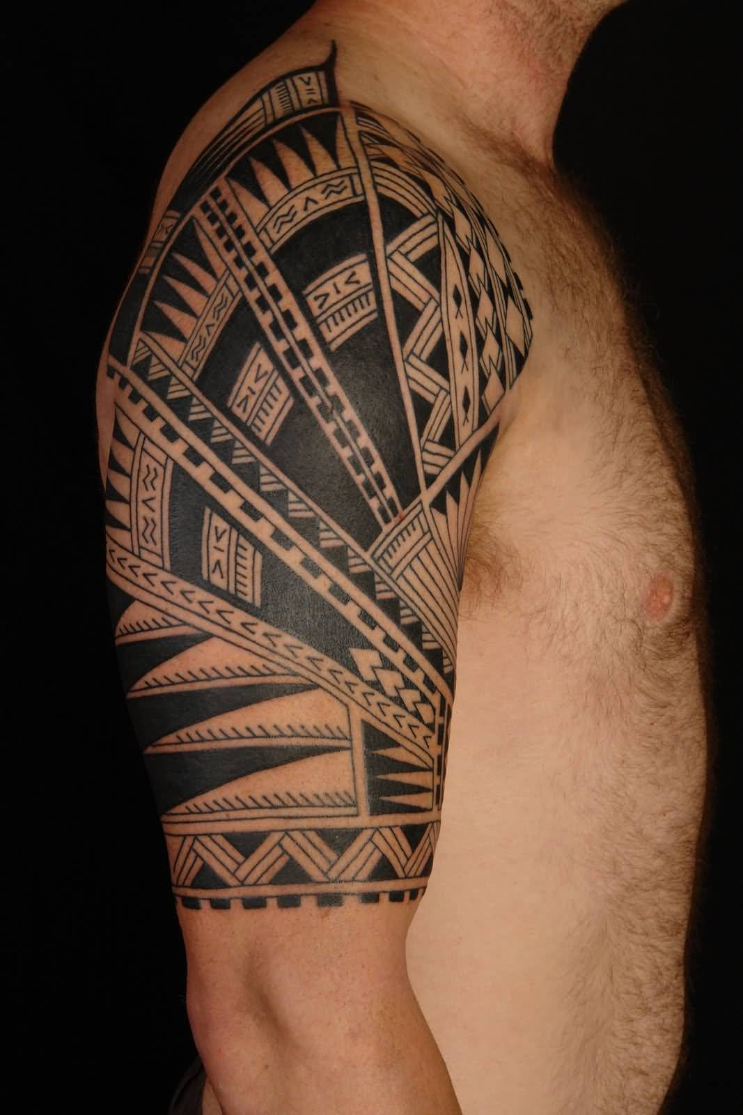 18+ Nice Tribal Shoulder Tattoos
