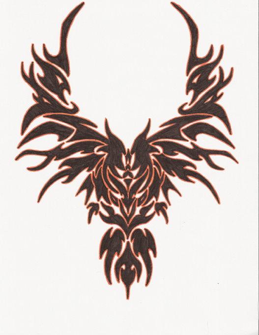 50 tribal birds tattoos rh askideas com thunderbird tribal tattoos tribal bird tattoos meanings