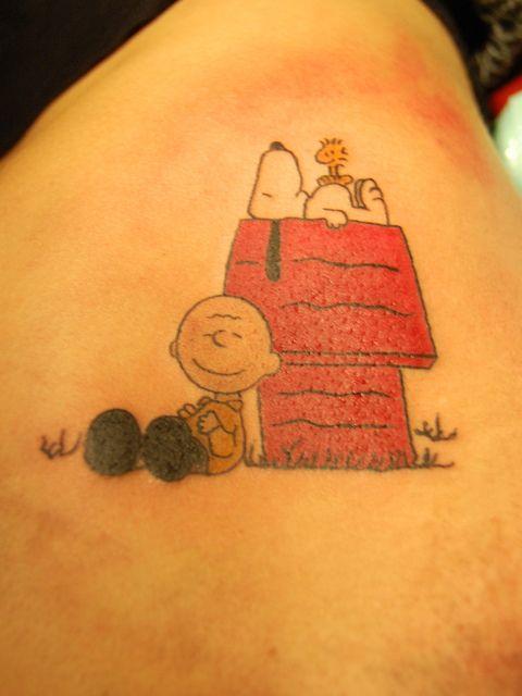 21 Cool Snoopy Tattoos Ideas