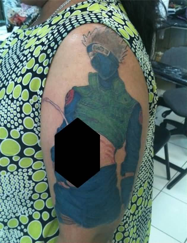 15 latest kakashi hatake tattoos