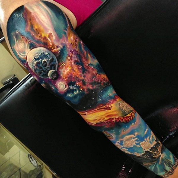 39+ Wonderful Universe Tattoos