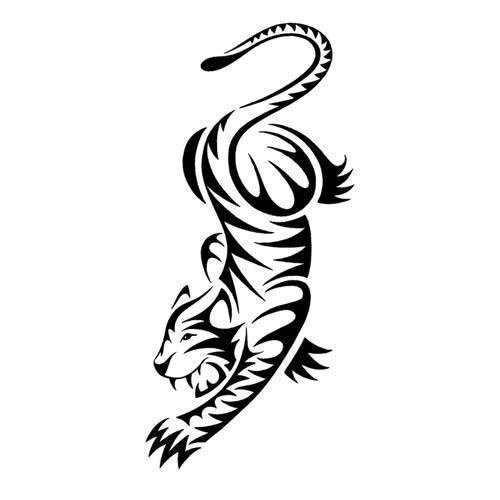 55 latest tribal tiger tattoos for Cool tiger tattoos