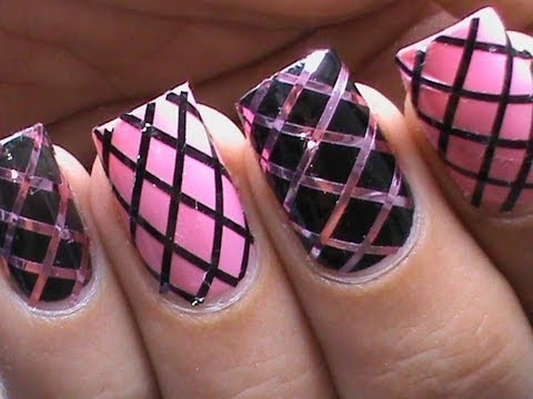 60 latest stripes nail art design ideas corset design stripes nail art prinsesfo Choice Image