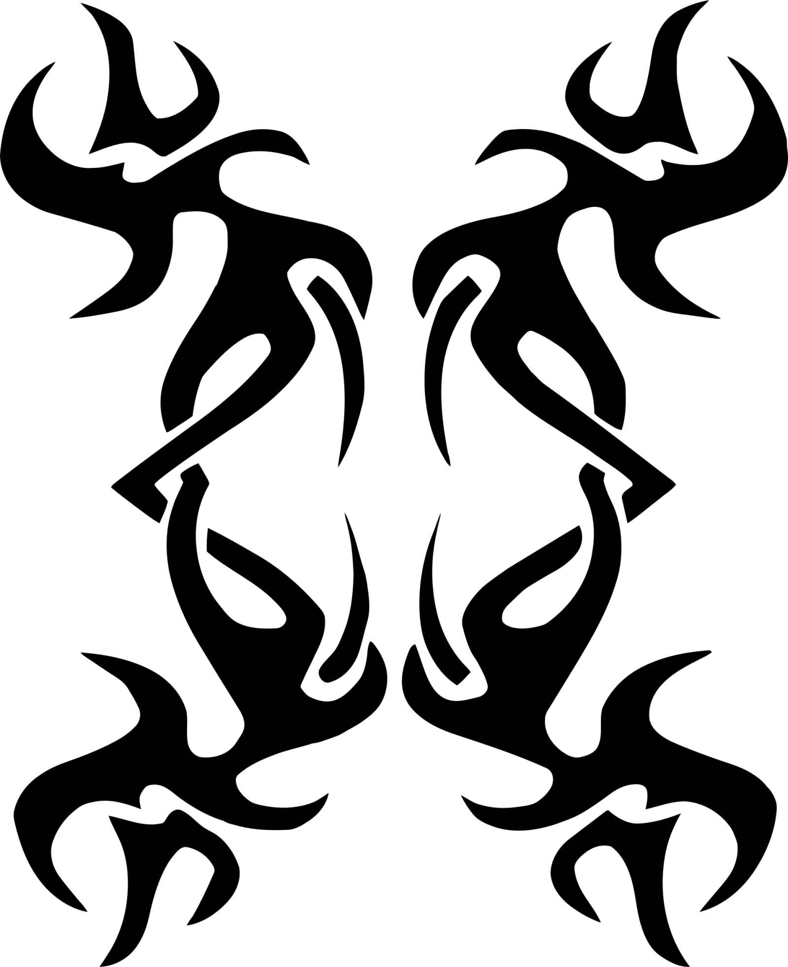 Tribal-Tattoos Creative-Tribal-Design-Tattoo