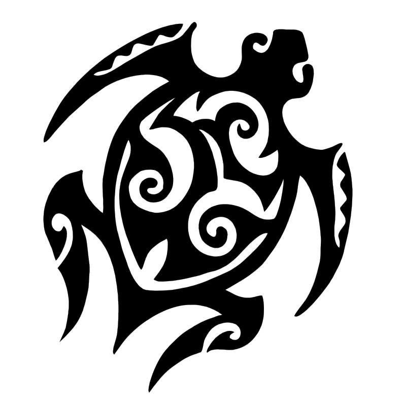 37eb9b573 50+ Awesome Tribal Turtle Tattoos Designs