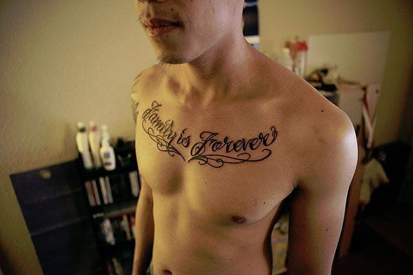 22 clavicle tattoos for men