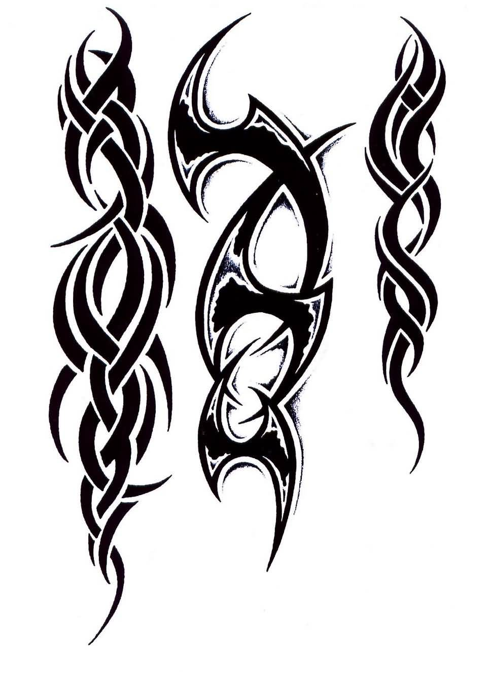 Tribal-Tattoos Fantastic-Black-Tribal-Tattoo-Designs