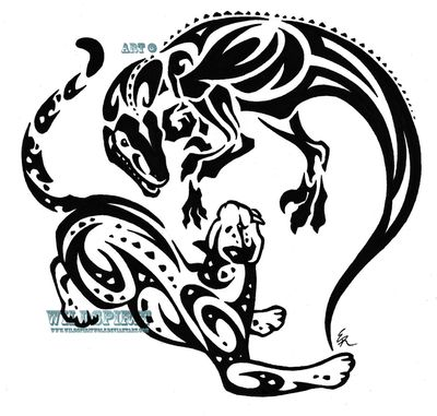 28 Tribal Leopard Tattoos Designs