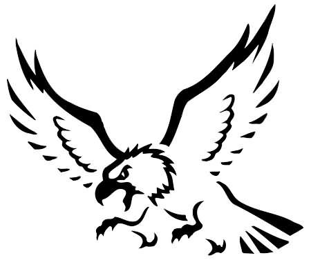 50 tribal birds tattoos for Tribal eagle tattoos