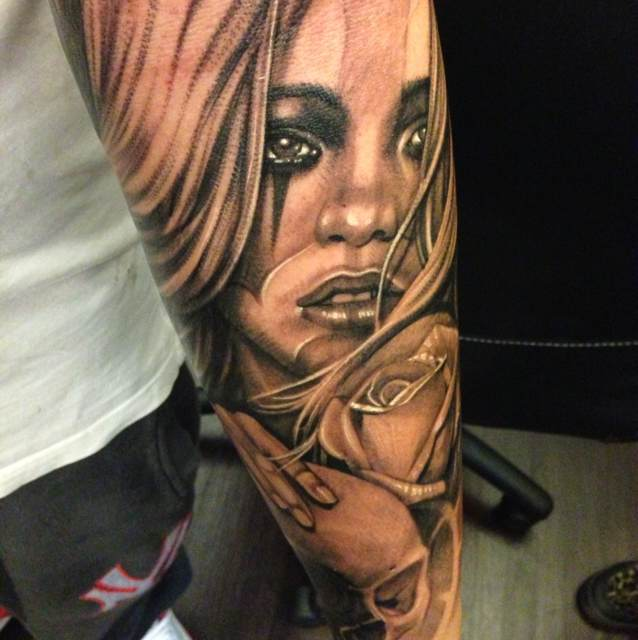 16 fantastic chicano tattoos for Chicano tattoo ideas