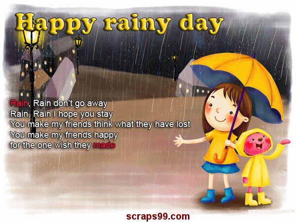 Happy Rainy Day Poem