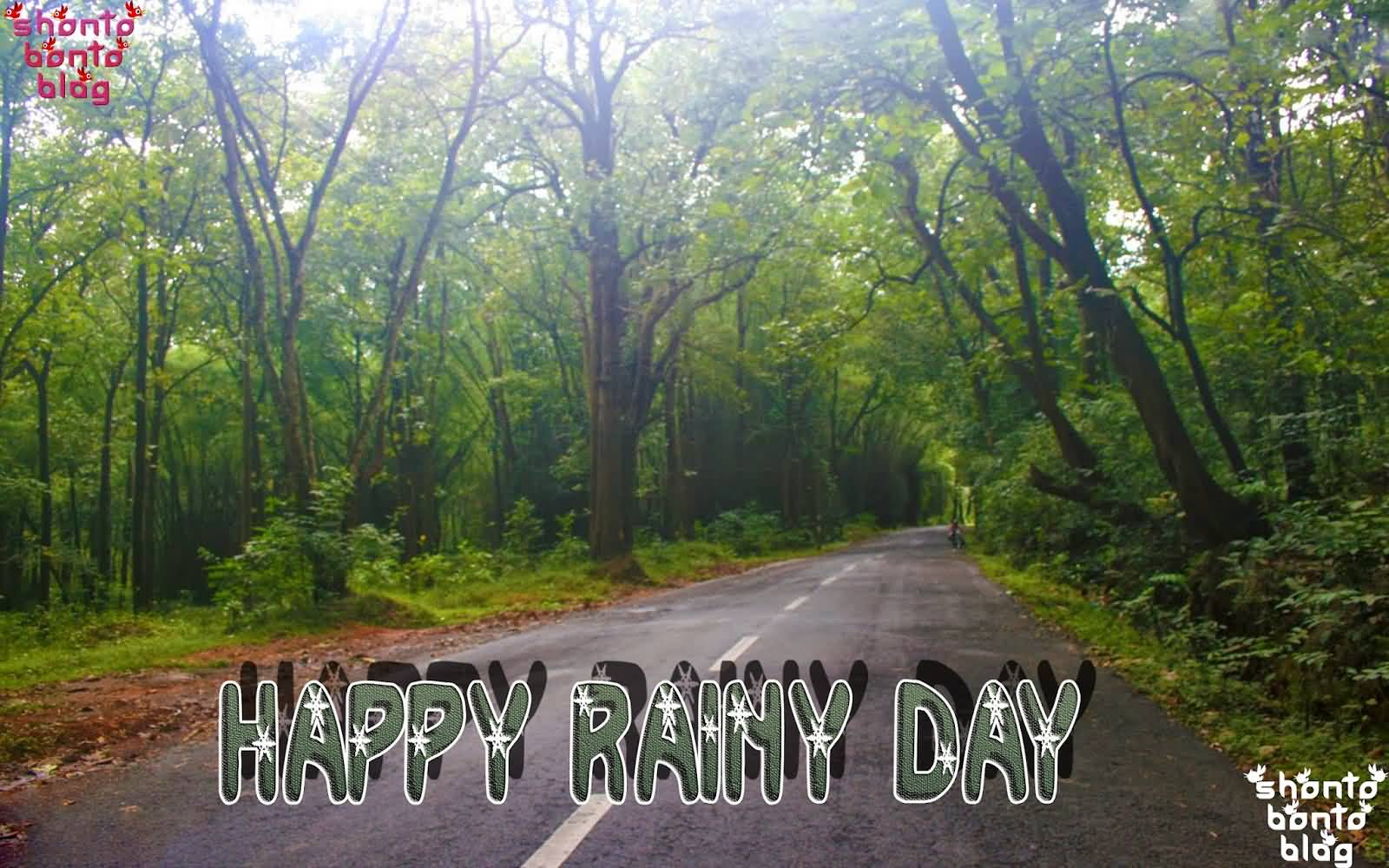 Happy Rainy Day Wishes Picture