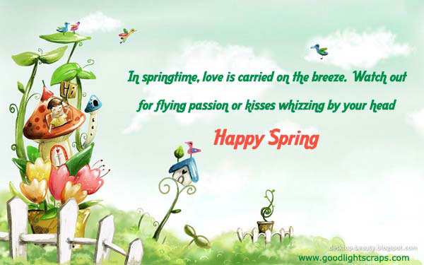 50 latest spring season wish pictures and photos - Happy spring day image quotes ...