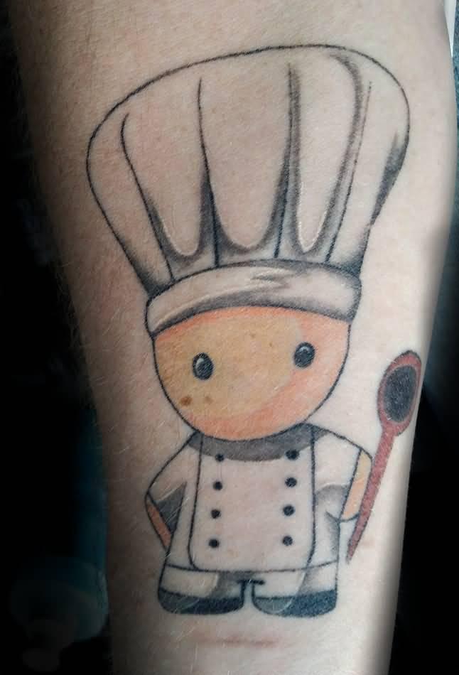 56 wonderful spoon tattoos