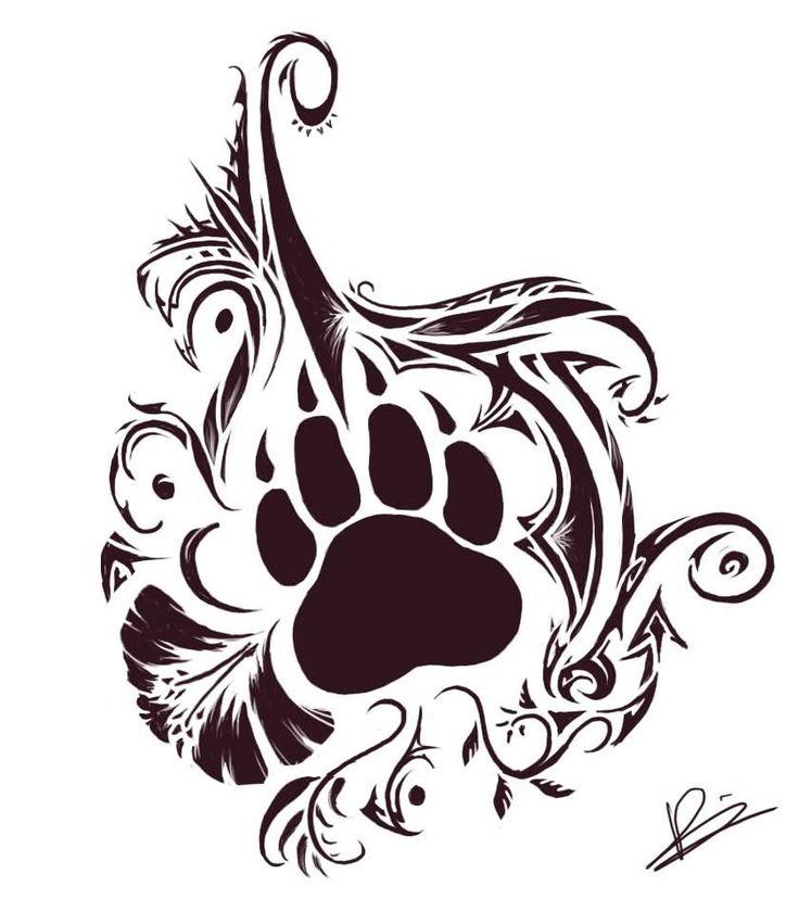 25 tribal animal tattoo designs. Black Bedroom Furniture Sets. Home Design Ideas