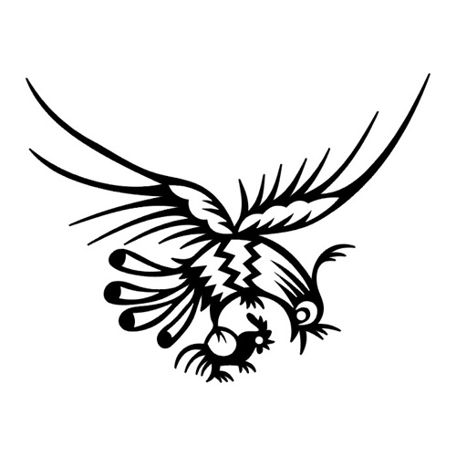 50+ Tribal Birds Tattoos