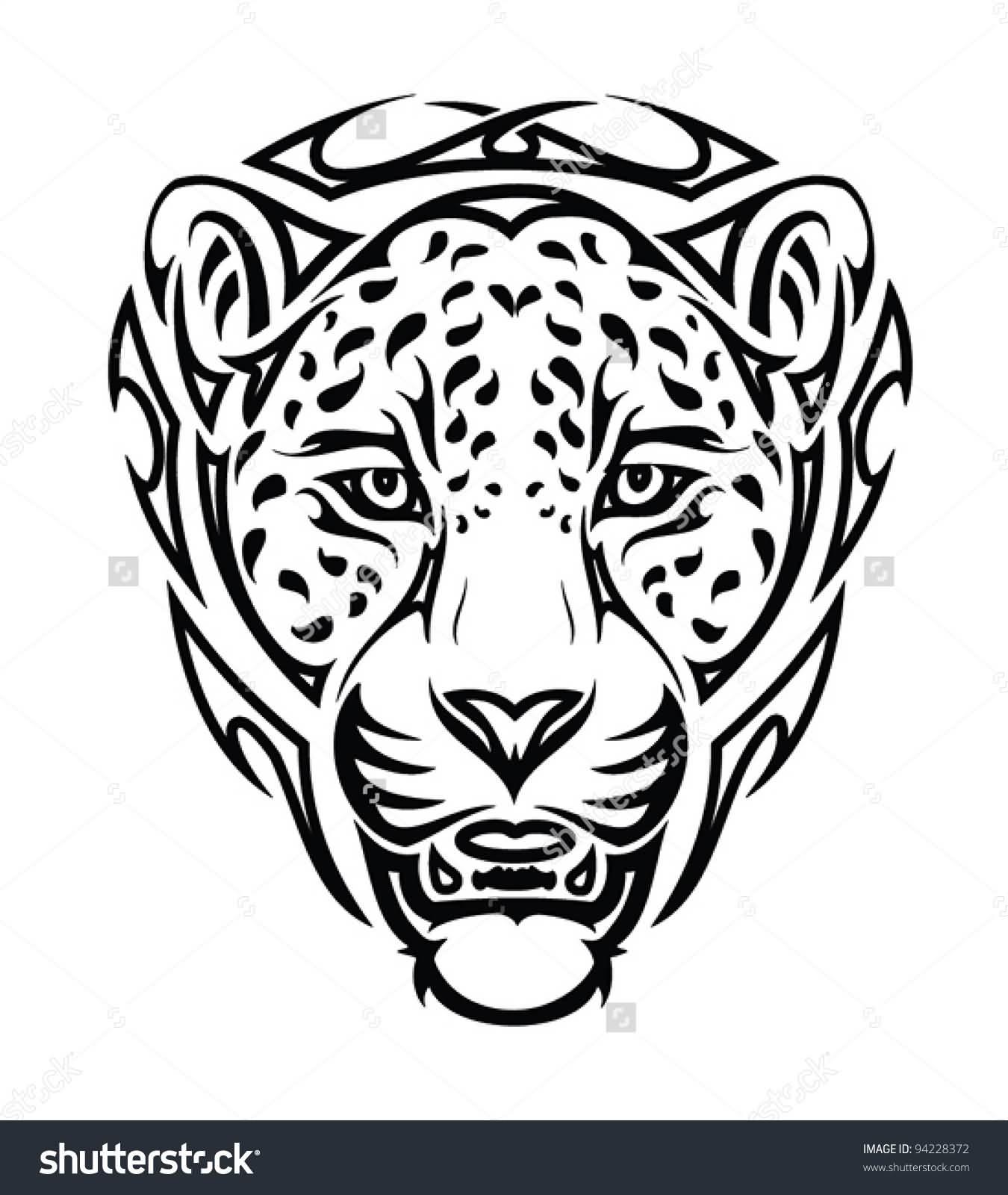 25+ Tribal Jaguar Tattoo Designs