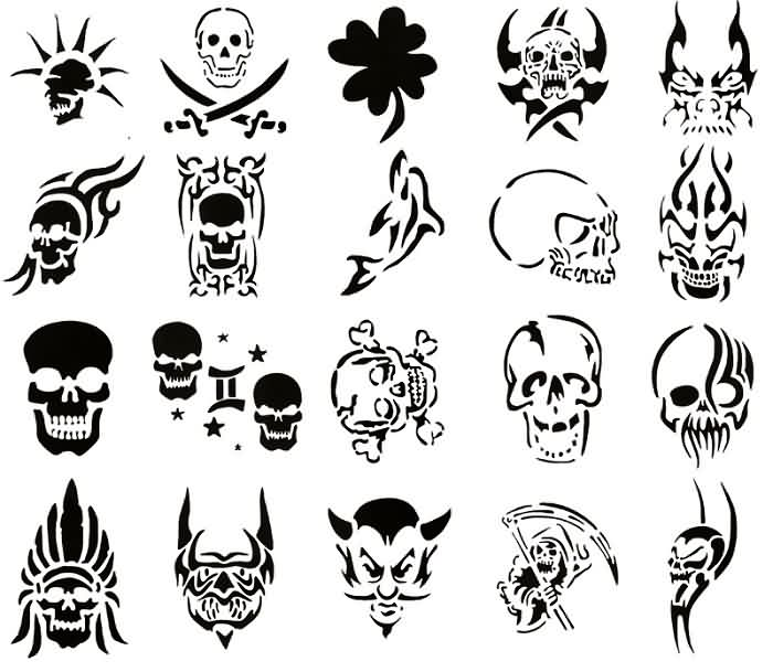 40 tribal skull tattoos ideas for Tattoo classes online free