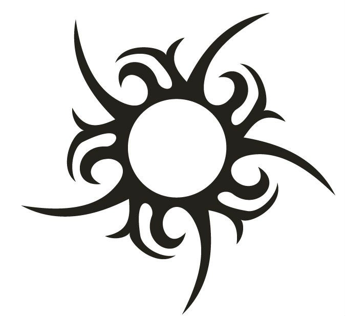 55+ Tribal Sun Tattoos Collection